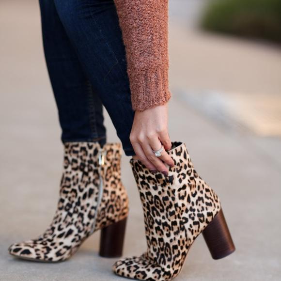 931a4ee13d40 NWT Sam Edelman Corra Leopard Booties